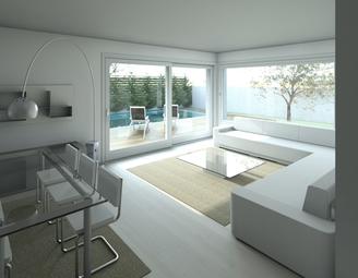 Le caratteristiche delle case e delle ville moderne case for Ville moderne con vetrate